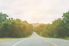 Local road Royalty Free Stock Photo