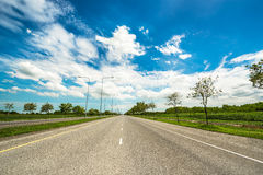 Local road Stock Image