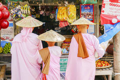 Local roadside shop in Myanmar Royalty Free Stock Photography