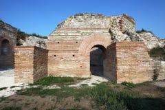 Local romano antigo Felix Romuliana imagem de stock royalty free