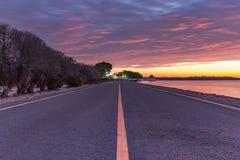 Local scenic road Stock Image