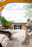 Local School construction Royalty Free Stock Image