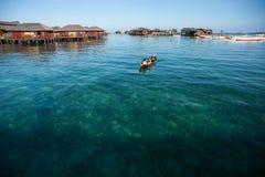 A local sea gypsy kid Stock Photos