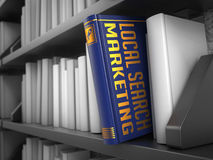 Local Search Marketing - Title of Book. Royalty Free Stock Images