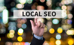 Local SEO Concep Stock Images