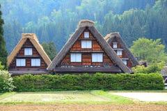Local Shirakawago do patrimônio mundial Foto de Stock
