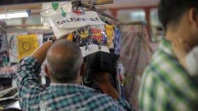 Flea market of Mumbai city, India