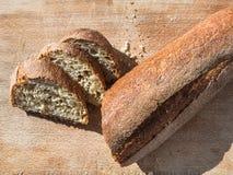 Local sicilian baguette bread in Sicily Stock Photos
