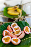 Local south pacific food Royalty Free Stock Images