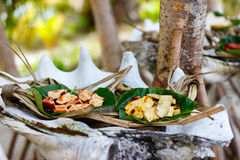 Local south pacific food Stock Photo