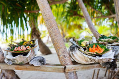 Local south pacific food Stock Image