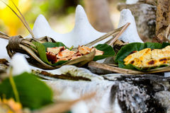 Local south pacific food Royalty Free Stock Image