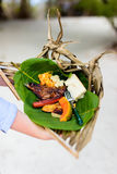 Local south pacific food Royalty Free Stock Photos