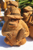Local Souvenirs made from coconut in Punta Cana  Dominican Republic Royalty Free Stock Image