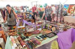 Local Souvenirs Market Stock Photo