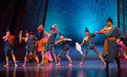 """Local specialty gift-Dance drama """"The Dream of Maritime Silk Road"""". Dance drama """"The Dream of Maritime Silk Road"""" centers on the plot of two generations Stock Image"""