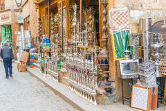 Local stores in Cairo, Egypt Stock Photos