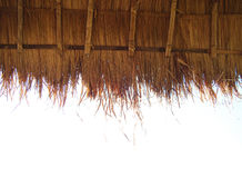 A local Straw roof Royalty Free Stock Photography