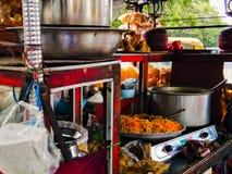 A local Street food vendor& x27;s shop in roadside in bengaluru city stock photos