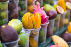 Local street fruit shop Royalty Free Stock Photo