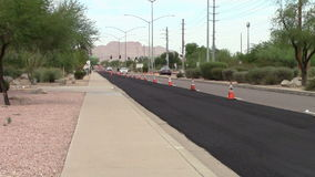 Local Street Maintenance stock video footage
