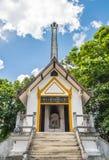 Local tailandês do crematório do estilo foto de stock