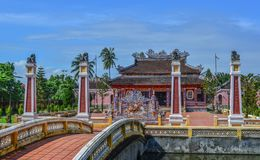 A local temple in Hoi An Old Town stock photography