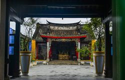 A local temple in Hoi An Old Town royalty free stock photo