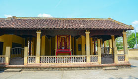 Local temple in Mekong Delta Royalty Free Stock Photography