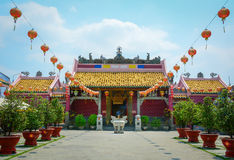 Local temple in Mekong Delta Royalty Free Stock Photos