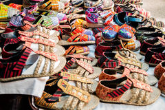 Local thai shoes Stock Images