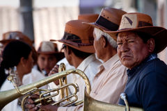Local town festivities in Pintag, Pichincha Royalty Free Stock Photo