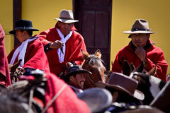 Local town festivities in Pintag, Pichincha Stock Photography