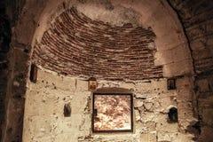 Local tradicional de onde Jesus Christ foi pendurado fotos de stock royalty free