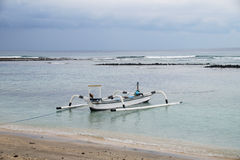 Local Traditional boat. Gili Air Island, Indonesia Stock Photography