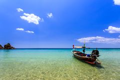Local Traditional Boat In Thailand Royalty Free Stock Images