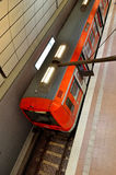 Local train at Hamburg Airport in Germany Stock Images