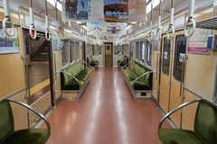 Local Train in Kyoto royalty free stock photo