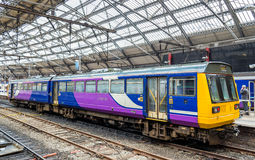 Local train at Liverpool Lime Street Train Station Stock Images