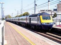 Local train in London, UK Royalty Free Stock Photo