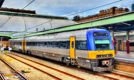 Local train at Sydney Central Station Royalty Free Stock Images