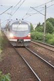 Local Trains in Krakow Stock Photo