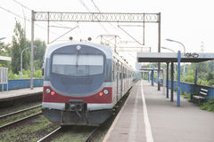 Local Trains in Krakow Stock Images