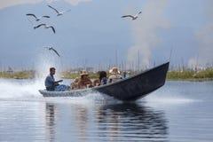 Inle Lake - Shan State - Myanmar (Burma) Stock Images
