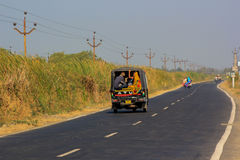 Local transportation vehicle India Stock Photography