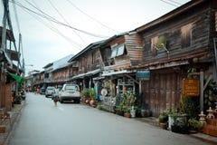 Local village in Chiang Khan Loei Thailand Stock Photo