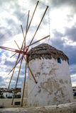Local windmill in Mykonos (Greece) Royalty Free Stock Image
