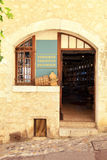 Local wine shop in Saint Paul de Vence Royalty Free Stock Images