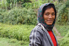 Local Woman in Chin State, Myanmar Royalty Free Stock Image