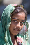 Local young girl in Manali, India Stock Photography